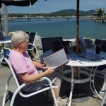 """Lunch at Bass Harbor - """"I just can't make up my mind"""""""