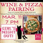 Girls Night Out Wine & Pizza Pairing