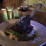 This pork Osso Bucco is the KING of the menu!