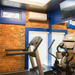 Catch a mini workout in our Fitness Studio.