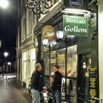 1 of 4 Gollem pub's we visited in Amsterdam.