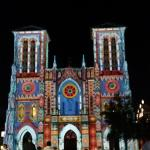 Light show at San Fernando Cathedral 5 blocks away was fantastic!
