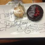 Lovely welcome for my birthday This hotel has great customer service   I stayed here for 1 night