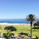 View from the Junior Suite of the Sea Point oceanfront