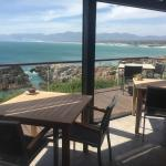 The beautiful views and excellent service at Cliff Lodge made it a highlight of our trip around