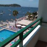 View from hotel reception