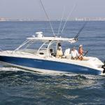 320 Outrage Cuddy Cabin, offshore fishing boat charter available near the resort