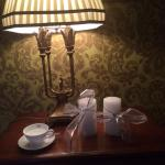 The little touches, china in the rooms in this 18th Century Manor House