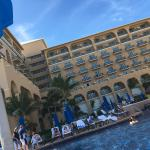 We stayed at the newly remodeled Ritz-Carlton in Cancun for Thanksgiving 2015. The beaches were