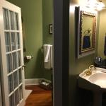 Bathroom in The State House Suite