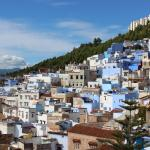 A view from the Terrace, over Chefchaouen