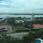 View from a Deluxe Room facing the Johore Straits
