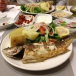 Sea bass at the Sempati