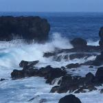 Blowhole nearby
