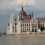 The magnificent  Parliament building seen from the Danube Cruise.