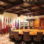 The Cloister Main Building, the Room of 2004 G-8 Summit hosted by President Bush