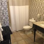 Room 537 -- spacious bathroom, away from elevators and adequately quiet