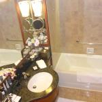 Bathroom with separate shower & tub