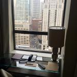 Desk with a beautiful view junior suite
