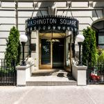 Washington Square Hotel, a haven for writers, artists and visitors to Greenwich Village.