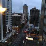 Crowne plaza and views from the 16th floor