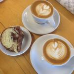 Coffee and Cake - just what the doctor ordered :)
