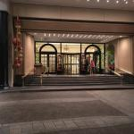 Entry at the Beverly Wilshire