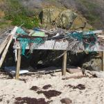 Shelter on Isaac Bay