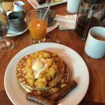 Macadamia Nut Pineapple Pancakes at Kona Cafe!