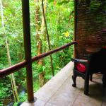 My balcony!  Magical spot to read, meditate or just soak up nature!
