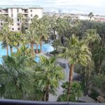 View from Balcony in Room 2611