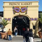 Entrance of the French Market