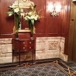 Elevator Lobby with fragrant live flowers