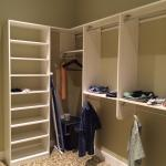 Hyatt Regency Indian Wells walk-in closet