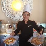 Food is Great,But the wonderful smiling of The Whole Marriot Team here make this place a great P