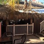 Part of the tiki bar. Very Key West style !