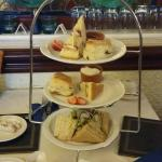 Afternoon tea with prosseco