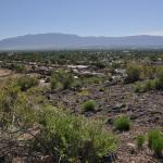 Great views of the SAndia Mountains and Albuquerque from the west mesa