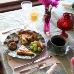 Scrumptious Breakfast in the Dining Room