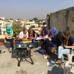 Young Leaders 2016 on the rooftop of Grace Home