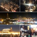 Food stalls, snail eating, hawkers, superstitious herb man - Madness