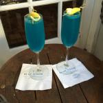 Have a signature blue moon cocktail!