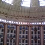 inside the central dome