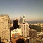 View from rooftop bar at Marriott Marquis