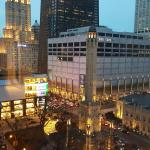 Spectacular View of Michigan Ave