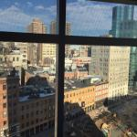 Looking out over Cooper Square, 12th floor