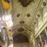 Inside St Louis Cathedral