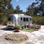 Airstream accommodation available