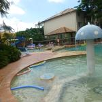 Our favourite pool at the resort - my grandchildren loved the waterslide especially