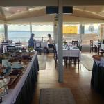 delicious breakfast buffet overlooking the Sea of Marmara